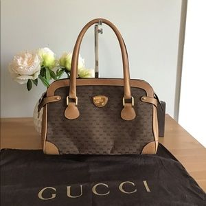 🛍👜GUCCI Vintage Boston  Bag